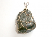 Lodestone Wire Wrapped Gemstone Pendant