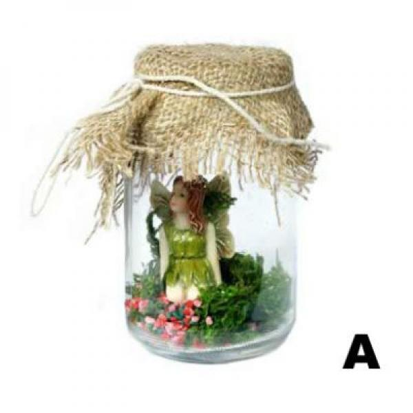 Jam Jar Fairy Pet - Hands By Side - Slight Second