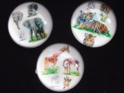 Glass Fridge Magnet - Wildlife Designs
