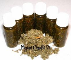 Cinquefoil Magickal Oil + Herb Wisdom, Health, Power