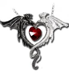 Coeur Sauvage Pendant Alchemy Gothic