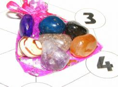 Gemstone Crystal Grid For Healing