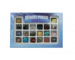 Healing Powers Boxed Set of 20 Tumbled Gemstone Crystals