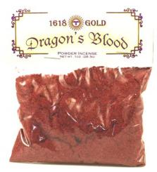 Self Lighting Dragons Blood Incense Powder