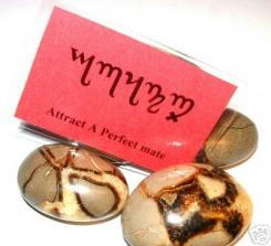 Perfect Mate Theban Talisman Amulet Witch Card