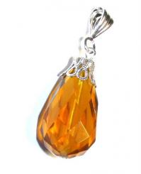 Sunset Teardrop Andara Pendant