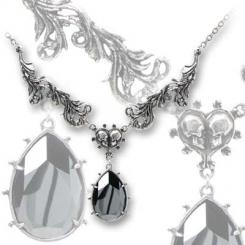 The Last Caress Alchemy Gothic Pewter Pendant