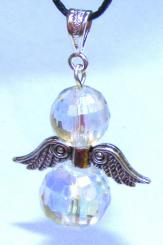 Aura Guardian Angel Quartz Pendant