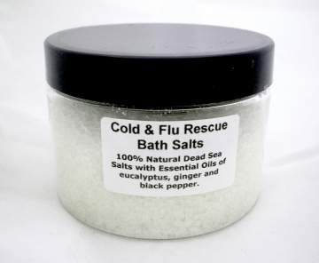 Cold and Flu Rescue Bath / Whirlpool Salts