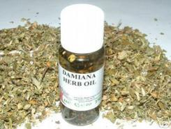 Damiana Oil + Herb Magickal Oil Made The Old Way