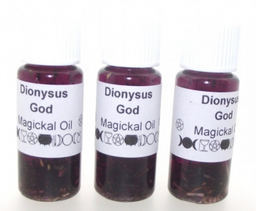 Dionysus God Herbal Infused Botanical Oil
