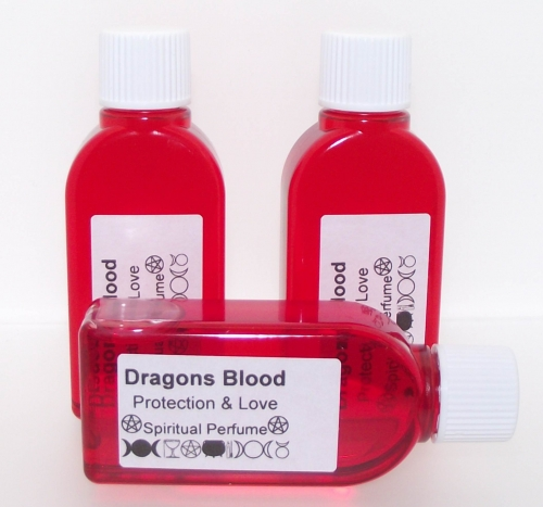 Dragons Blood Oil / 25Ml / Love, Passion + Protection