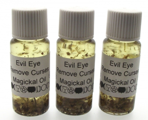 Evil Eye Oil - For Removing Curses And Negative Energies