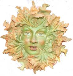 Greenspirit Large Wall Plaque