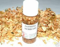 Jasmine Oil + Herb Magickal Oil Made The Old Way