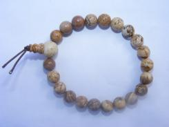 Kalahari Picture Jasper Gemstone Crystal Power Bracelet