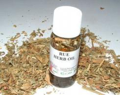 Rue / Ruda Oil + Herb Magickal Oil Made The Old Way