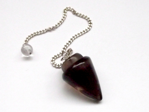 Smokey Quartz Cone Gemstone Dowser