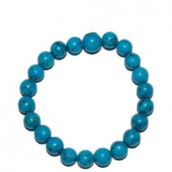 Turquenite Gemstone Crystal Power Bracelet