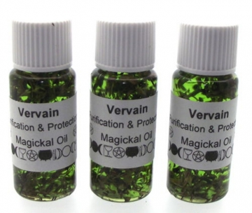 Vervain Herbal Infused Ritual Magickal Oil