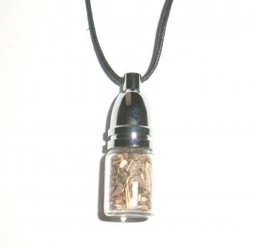 Vervain Mojo Bottle Pendant - Purification / Protection