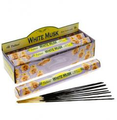 White Musk Incense Sticks Full Box 120 Sticks - TULASI