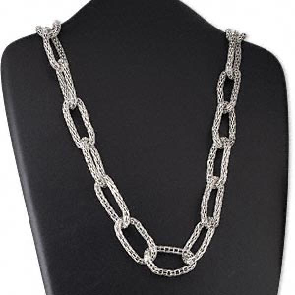 Steel Mesh Link Necklace