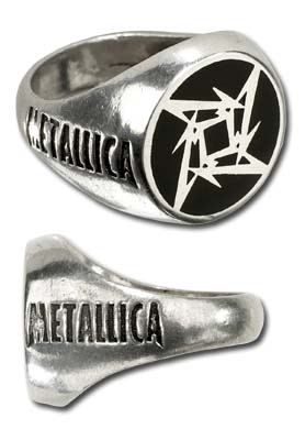 Metallica Ninja Ring - Size Q