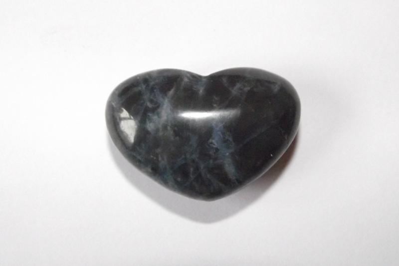Sodalite Polished Gemstone Crystal Heart - Type 2