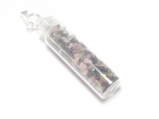 Mixed Tourmaline Gemstone Spell Bottle Pendant