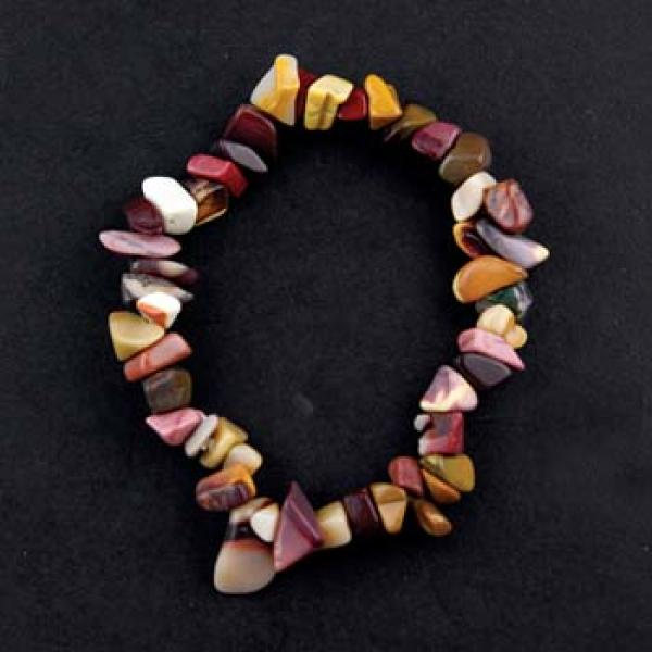 Mookite Gemstone Chip Bracelet