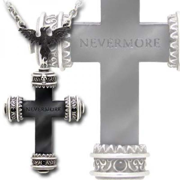 Nevermore Cross Alchemy Gothic