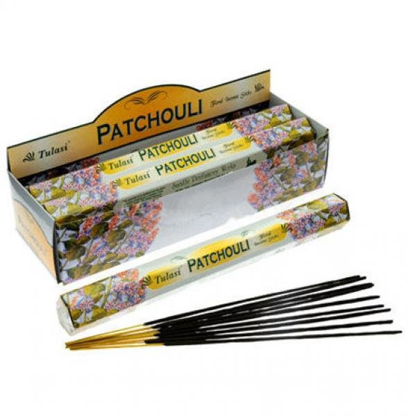 120 Patchouli Incense Sticks - TULASI