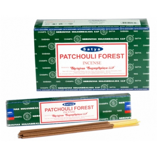 Nag Champa Patchouli Forest Incense - Single Pack