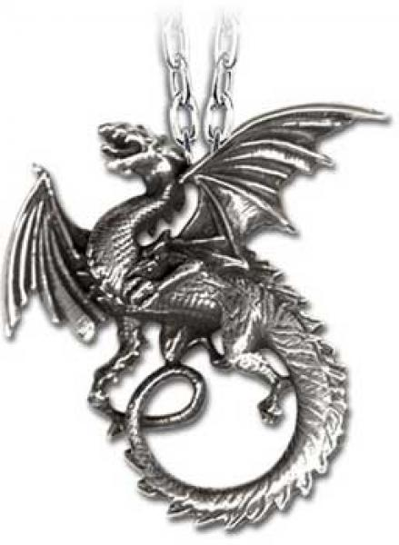 The Whitby Wyrm Pendant Alchemy Gothic