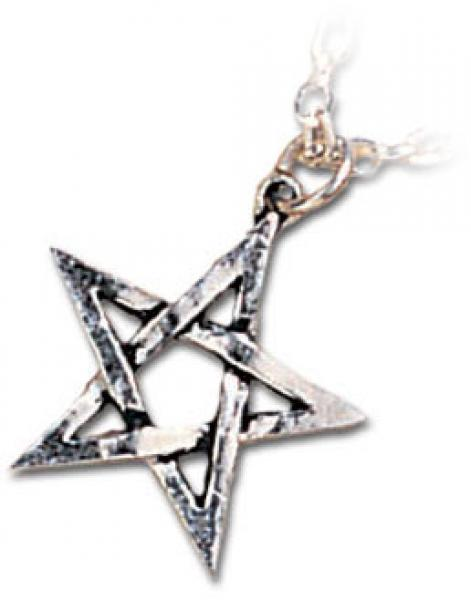 Pentagram Pendant with necklace