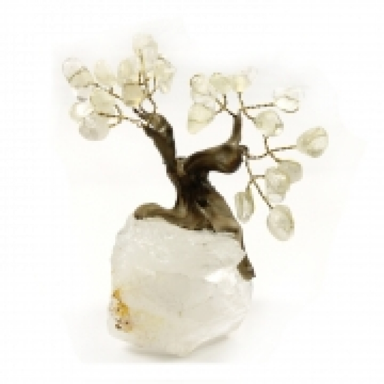 Quartz / Rock Crystal Cluster Bonsai Gem Tree