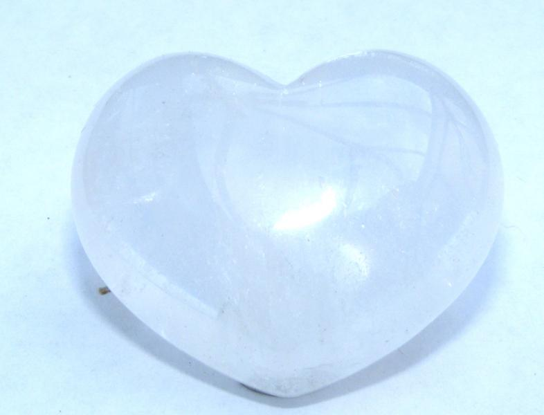 Quartz Polished Gemstone Crystal Heart