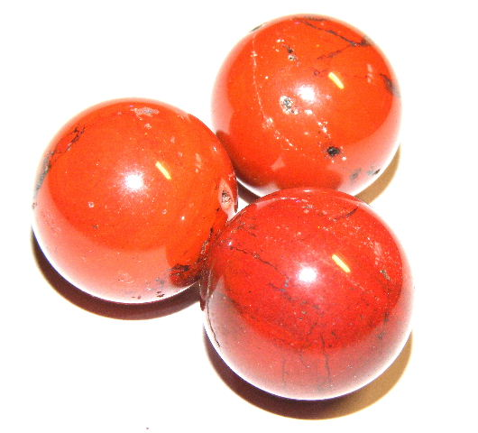 Red Jasper 25mm Gemstone Sphere