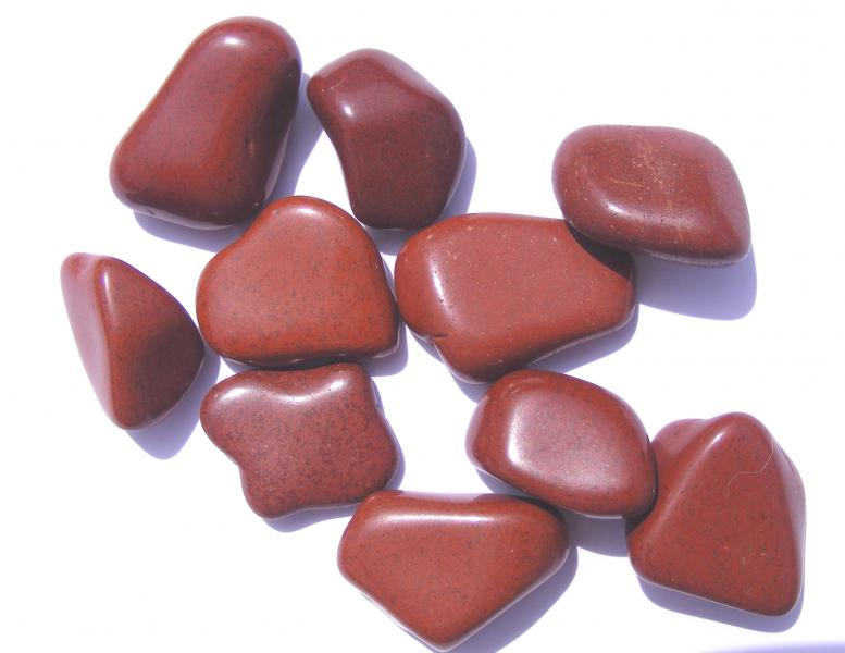 Red Jasper Tumblestones - Medium