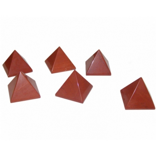 Red Jasper Gemstone Crystal Pyramid