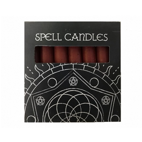 Red Mini Spell Candles Pack Of 6
