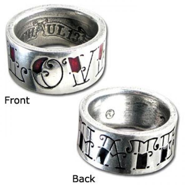 Love/Hate - Alchemy Gothic - Ring