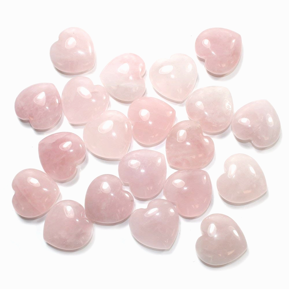Rose Quartz Gemstone Crystal Heart