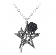 Ruah Vered Rose Pentagram Pendant