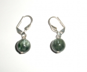 Seraphinite Gemstone Earrings
