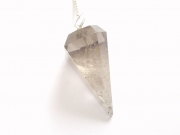Smokey Quartz Facetted Crystal / Gemstone Dowser