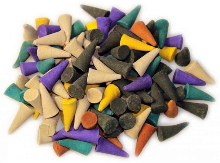 Spicy Assorted Incense Cones x 12