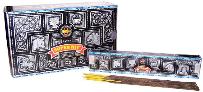 Nag Champa Super Hit Incense - 12 X 15Gms Pack