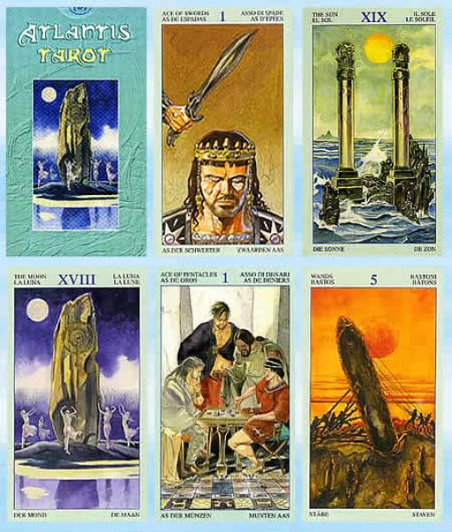 Tarot Of Atlantis - Tarot Cards
